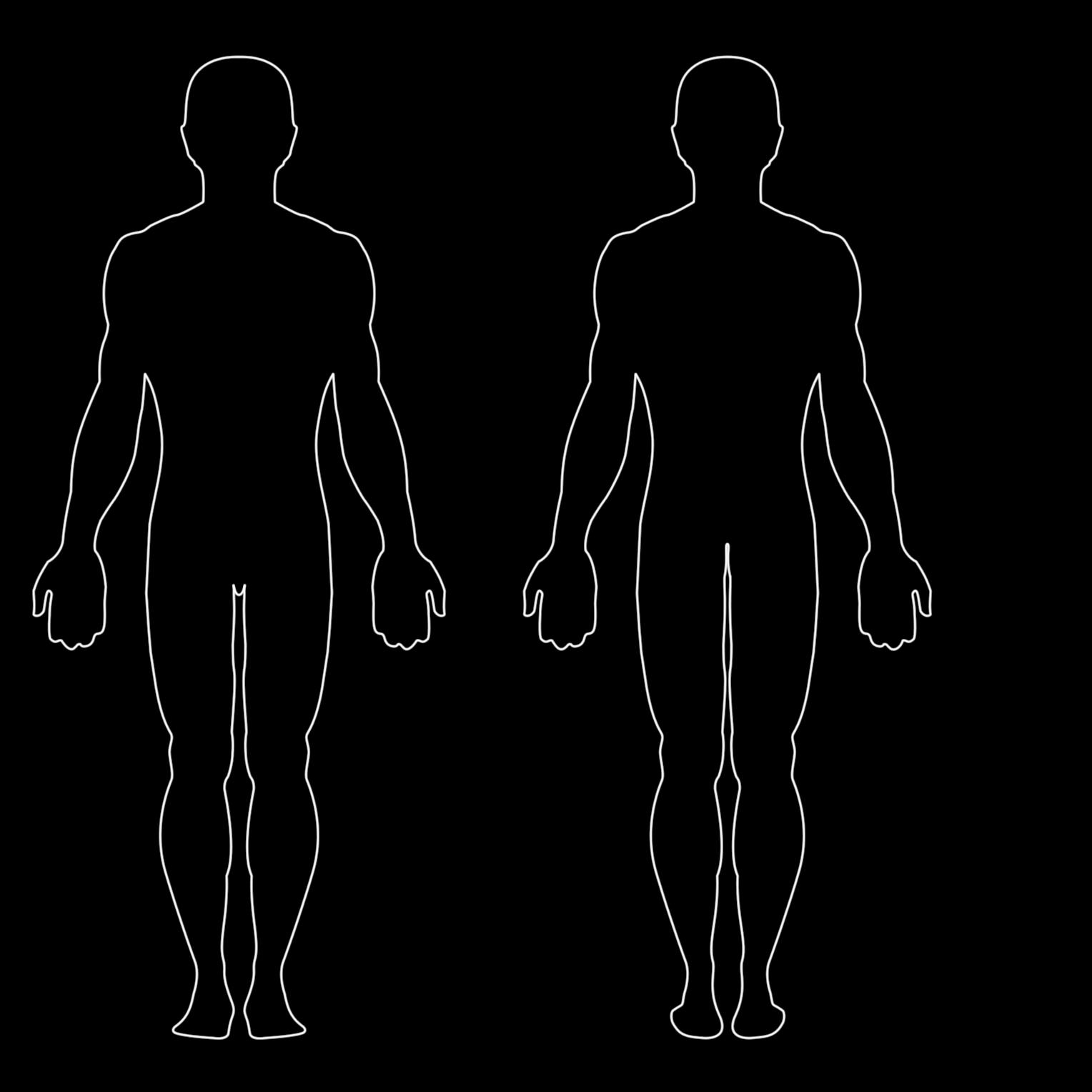 Human Figure PNG HD - 120720