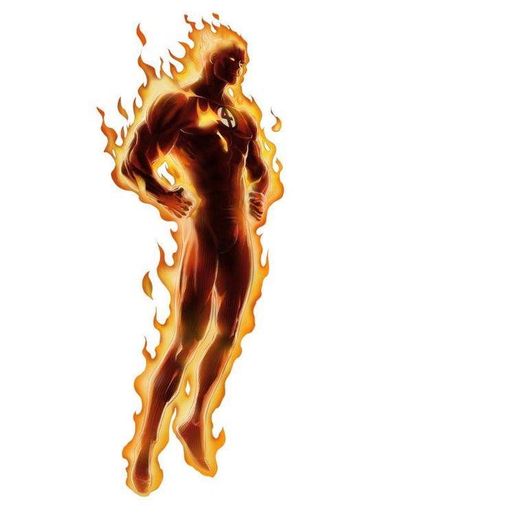 Classic Human Torch - Human Torch PNG