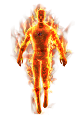 Human Torch - Human Torch PNG