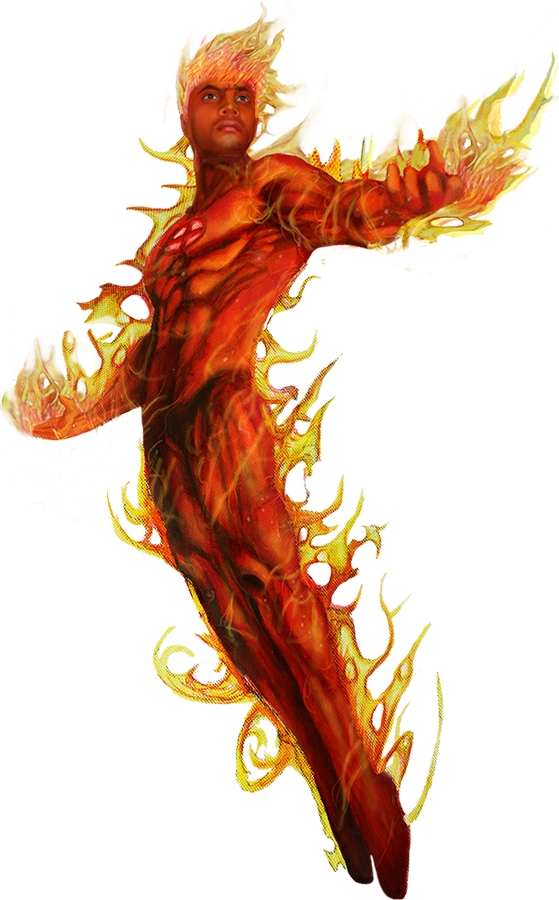 Human Torch PNG