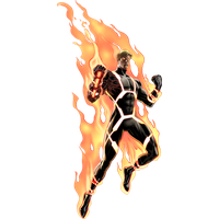 Human Torch Png PNG Image - Human Torch PNG