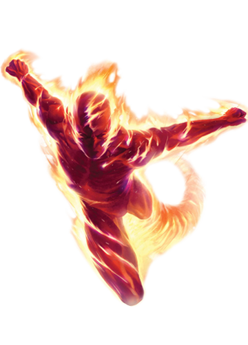 Image - Human Torch Marvel XP.png | Marvel: Avengers Alliance Wiki | FANDOM  powered by Wikia - Human Torch PNG