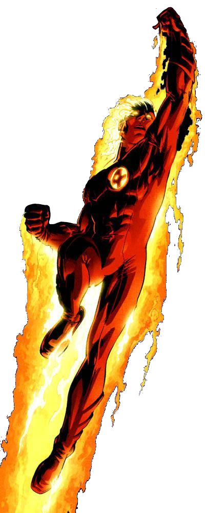 PNG File Name: Human Torch PlusPng.com  - Human Torch PNG