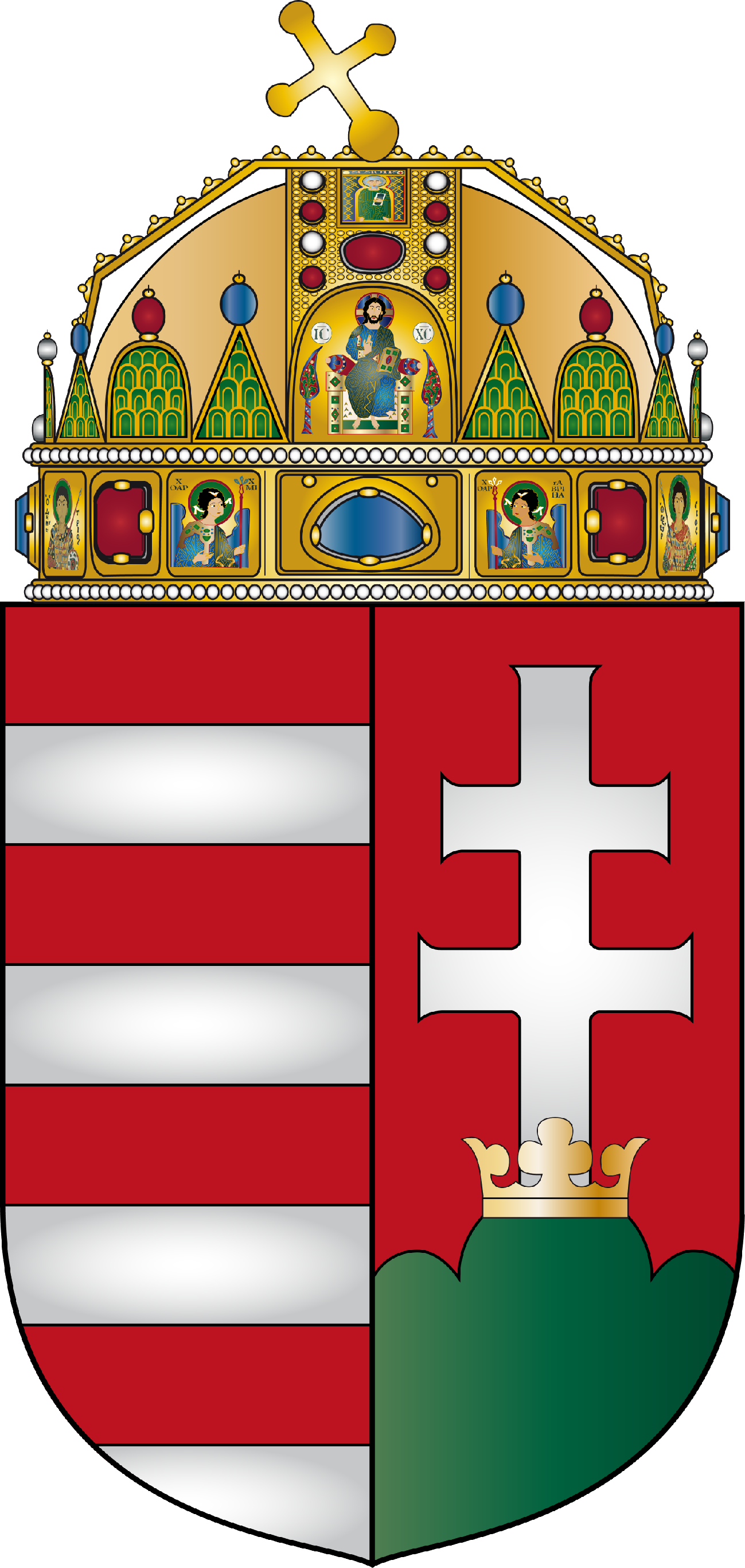 File:Coat of arms of Hungary.png - Hungary PNG