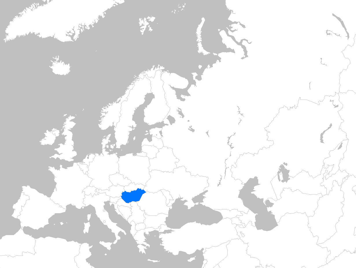 File:Europe map hungary.png - Hungary PNG