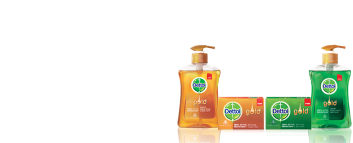Dettol Gold - Hygiene Products PNG