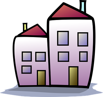 Hyreshus, Hus, Apartment House - Hyreshus PNG