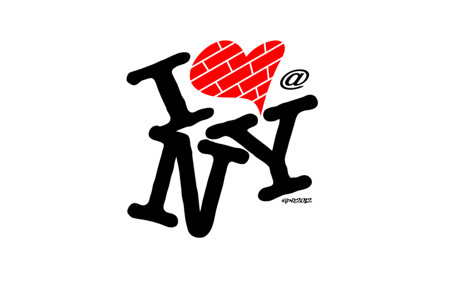 I Love New York - Art Logo by elclon on DeviantArt - I Love New York PNG