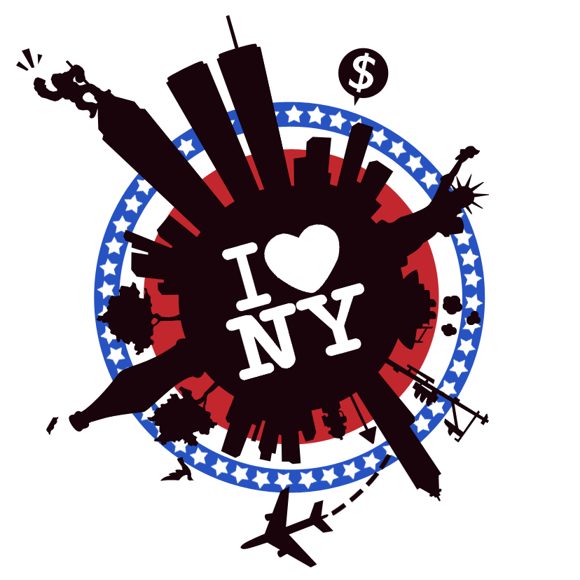 I Love NY - Lilu0027 Big Apple by Eniotna PlusPng.com  - I Love New York PNG