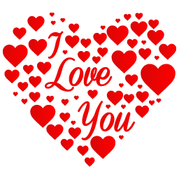 Heart-I-Love-You-icon.png - I Love U PNG HD