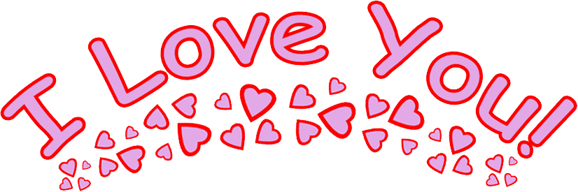 I love you PNG - I Love U PNG HD