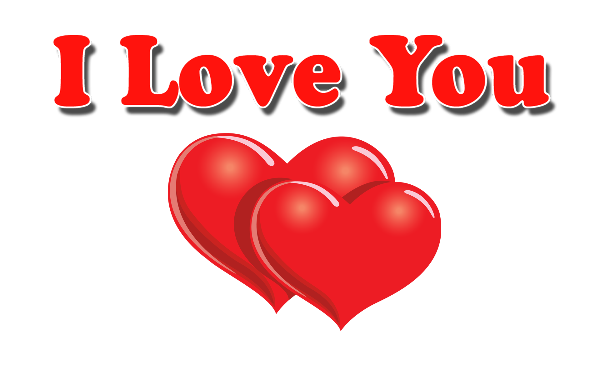 I Love You PNG HD Pics - I Love U PNG HD