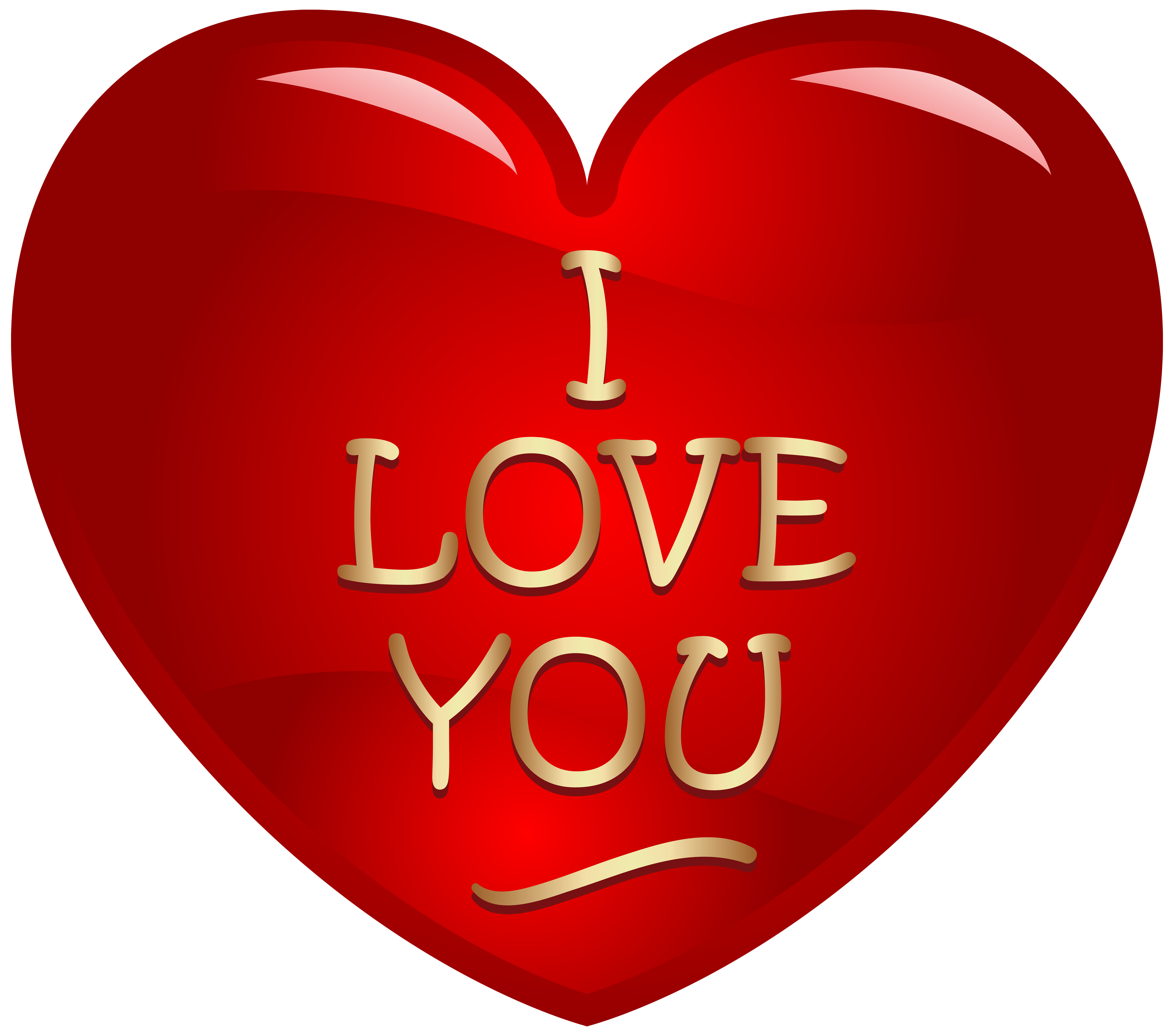 I Love You With Heart Images - I Love U PNG HD