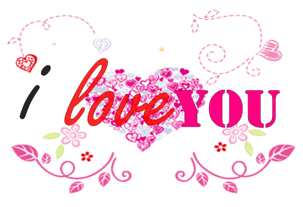 Png I Love You by MiliV PlusPng.com  - I Love U PNG HD