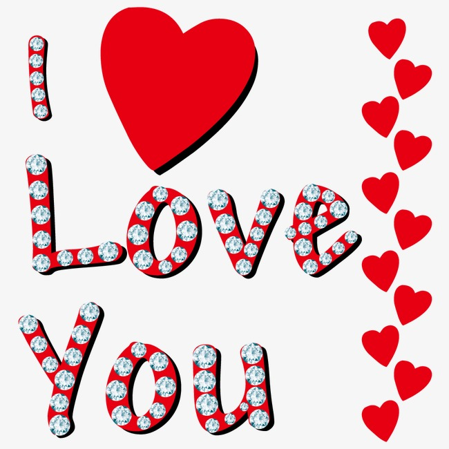 Vector I love you, Hd, Vector, Diamond PNG and Vector - I Love U PNG HD