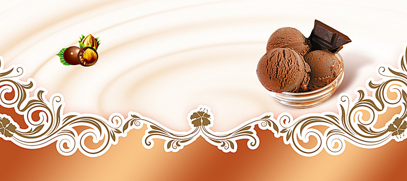 Dessert ice cream background banner - Ice Cream PNG Background