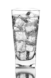 2672626-5744-glass-with-ice-water-isotated-on-white-background - Ice In Glass PNG