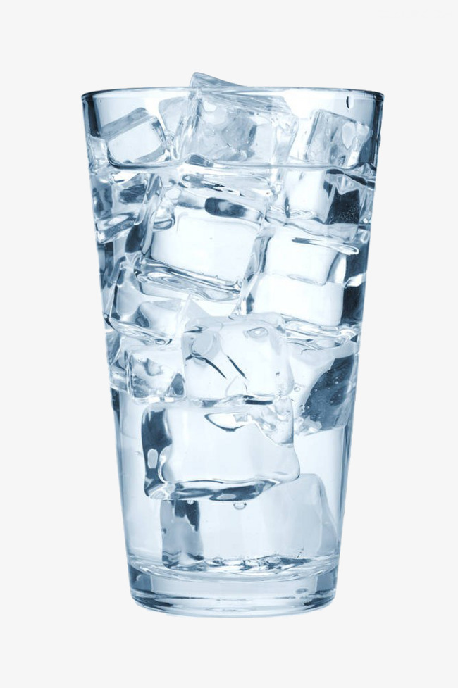 Ice In Glass PNG