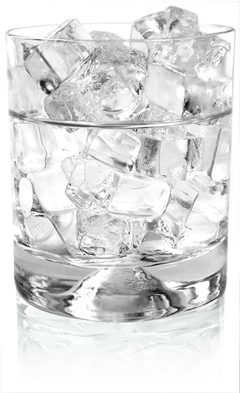 . PlusPng.com glass-of-clear-ice-350wide - Ice In Glass PNG