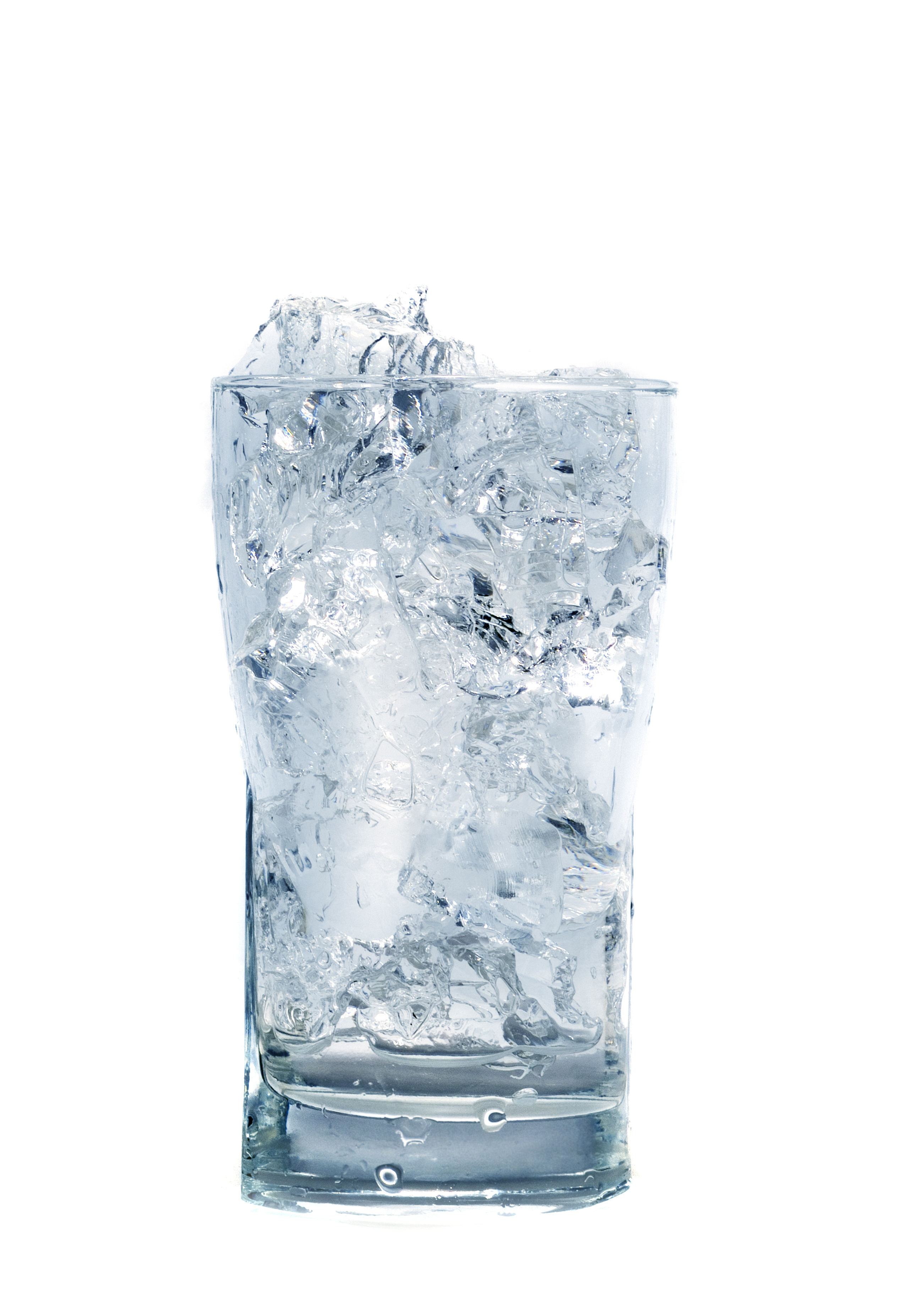 glass of wate - Ice In Glass PNG