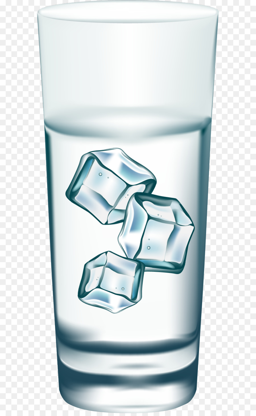 Ice Water Stock photography Cold Clip art - Water glass PNG - Ice In Glass PNG