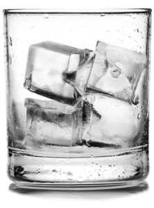 SMALL AND MEDIUM PRODUCTION · HIGH PRODUCTION - Ice In Glass PNG