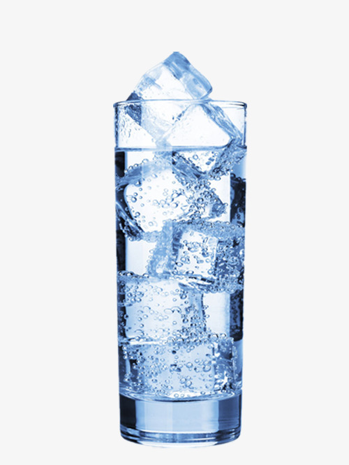 the big blocks of ice water glass, Ice, Free Pictures, Free Material PNG - Ice In Glass PNG