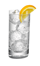 The Vodka Tonic drink is made with Smirnoff vodka and tonic water, and  served in - Ice In Glass PNG