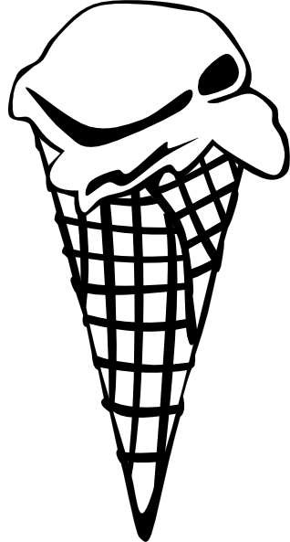 Download this image as: - Ice PNG Black And White