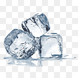Three ice cubes · PNG - Ice PNG
