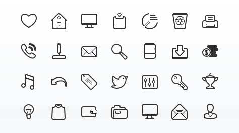 Simplicity Vector Icon Set - Icon Vector PNG
