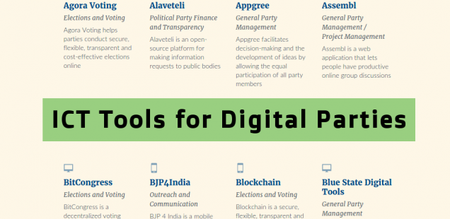 list of resources for digital party and parties like the pirate party that  needs ICT tools - Ict Tools PNG