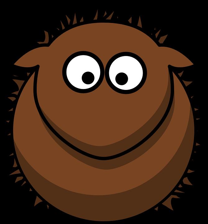 igelkott djur brown gnagare söt cartoon - Igelkott PNG