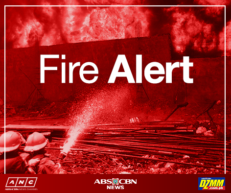 FIRE ALERT: As of 6:11AM at Universal Robina Bldg Bagong Ilog, Pasig - Ilog Pasig PNG