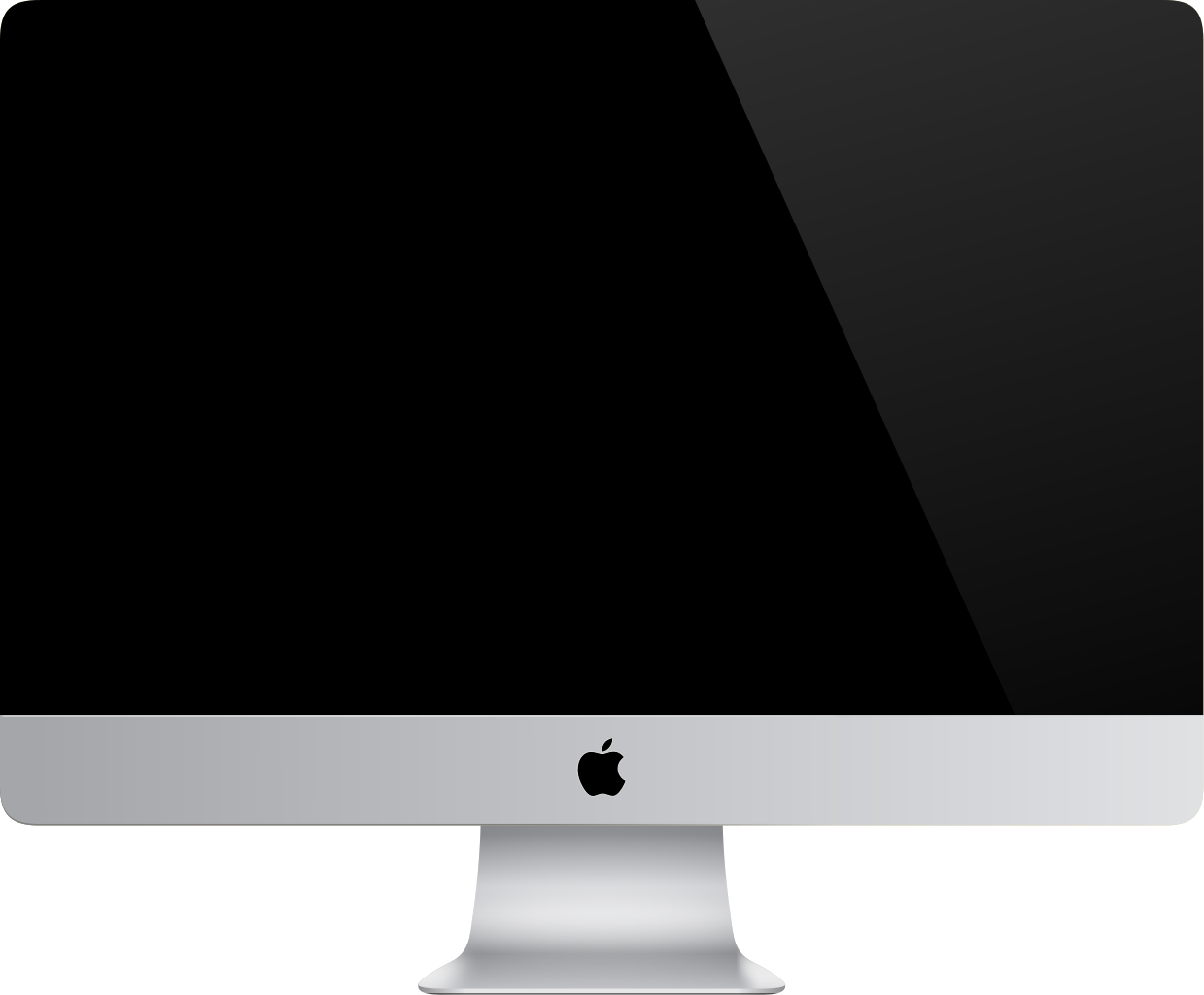 iMac Filled icon. This logo i