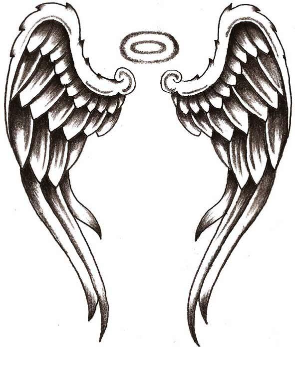 Angel Tattoos PNG - 2536