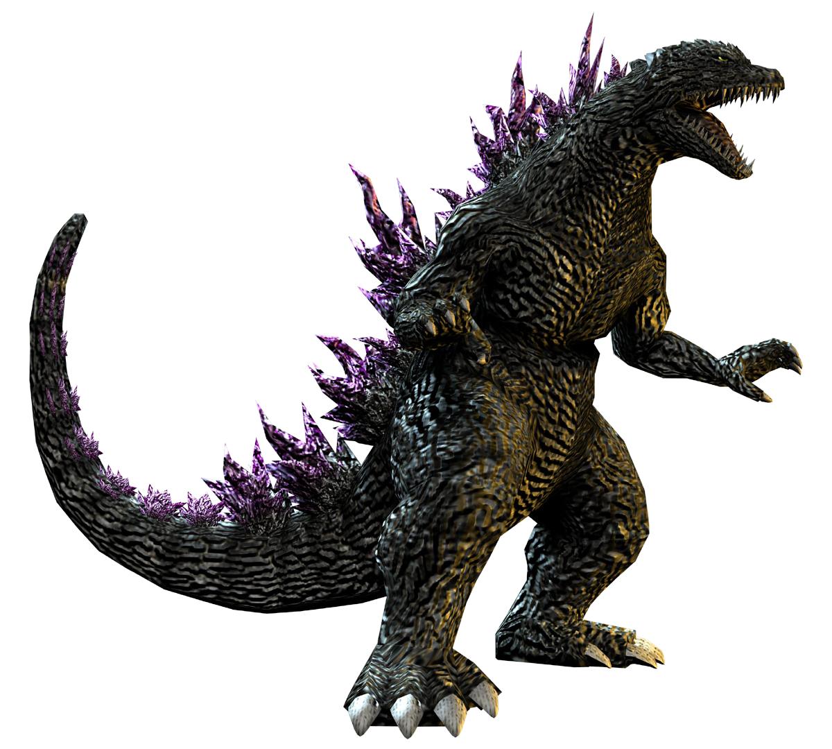 Image - Godzilla 2000 (Godzilla Unleashed).png | Gojipedia | FANDOM powered  by Wikia - Godzilla PNG