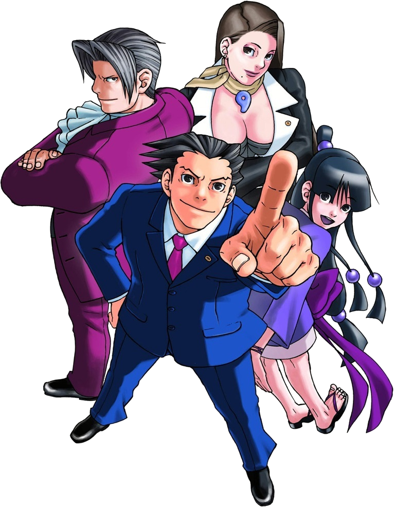 Image - PhoenixWrightHeader.png | Ace Attorney Wiki | FANDOM Powered By  Wikia - Ace Attorney PNG