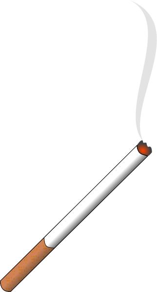 lit cigarette with smoke - /recreation/smoke/lit_cigarette_with_smoke.png .html - Image PNG Lit