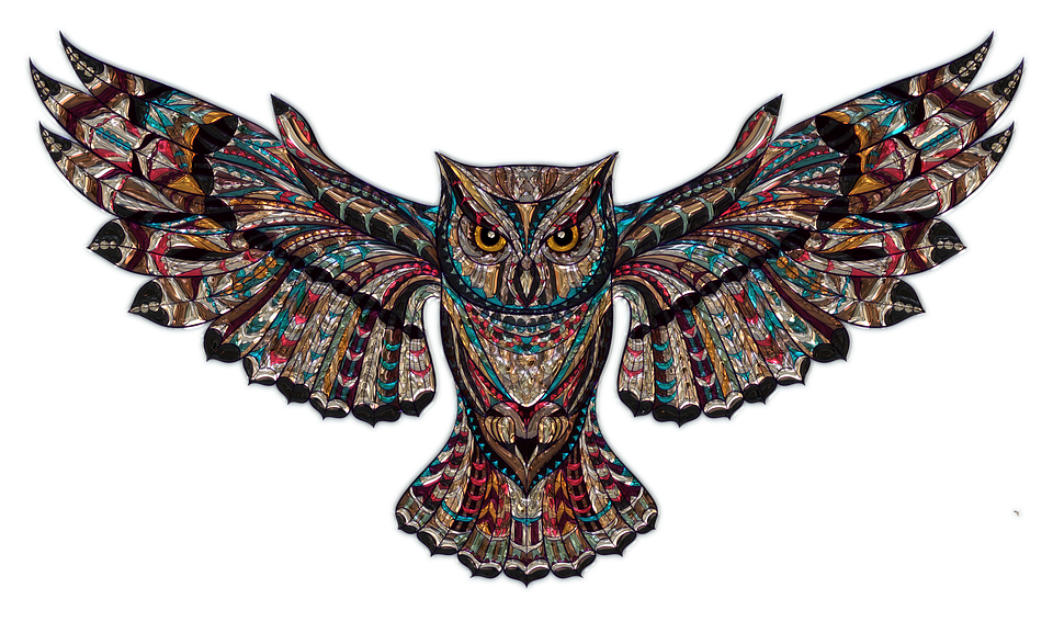 Owl Metallizer Art Glass Factory Owl Owl O - Images Owls PNG HD