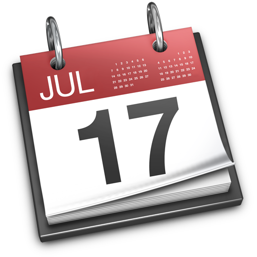 Download Dates in iCal format - Important Dates PNG