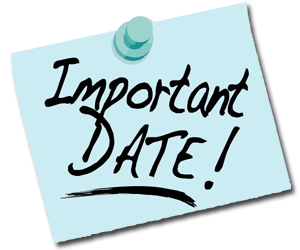 Important Dates: - Important Dates PNG