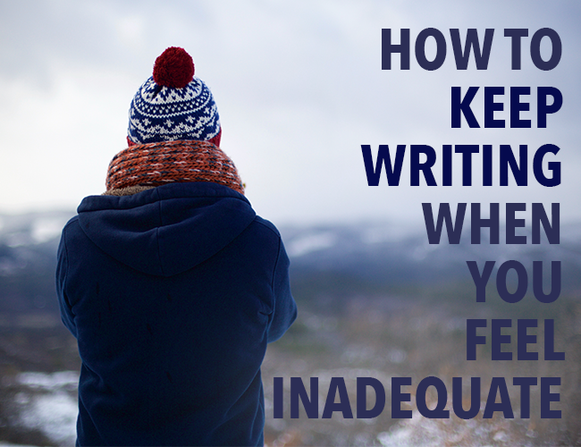 Writing With Confidence: How to Keep Writing Even When You Feel Inadequate - Inadequate PNG