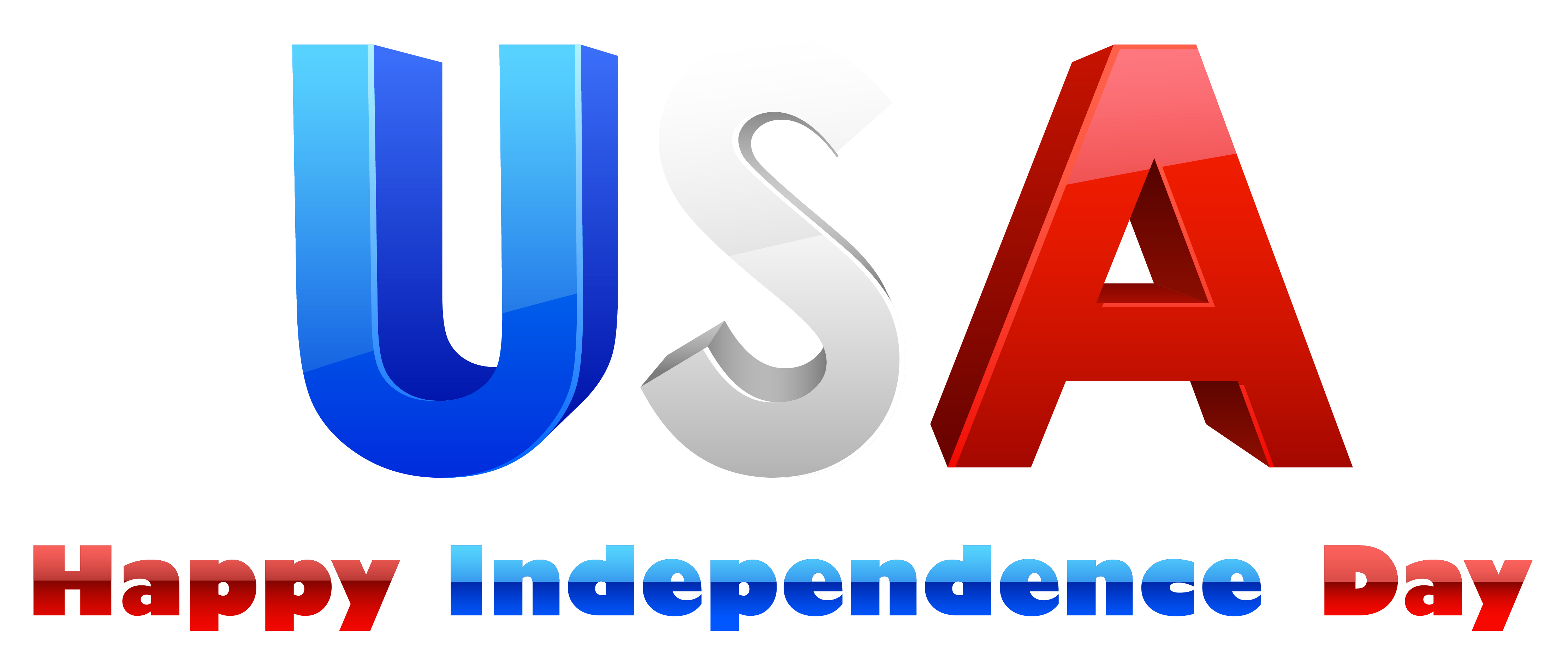USA Happy Independence Day PNG Clipart image #43011 - Independence Day PNG