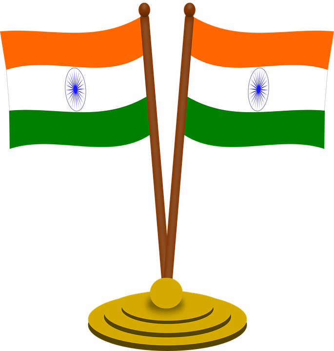 India, Flag, Independence, Tricolor, Country, State