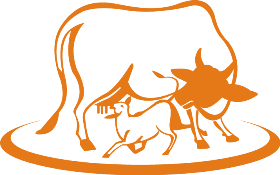Indian Cow With Krishna PNG-PlusPNG.com-280 - Indian Cow With Krishna PNG