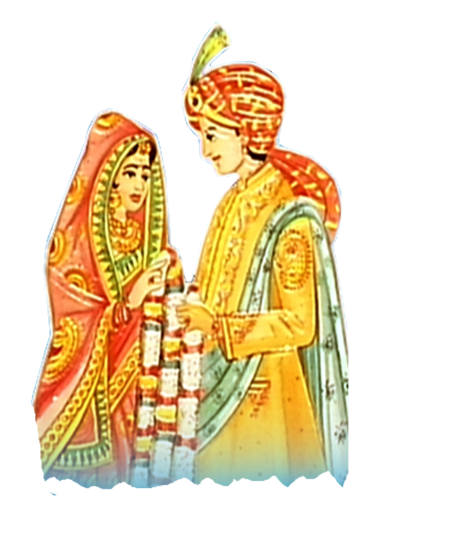 Indian Dulha Dulhan PNG