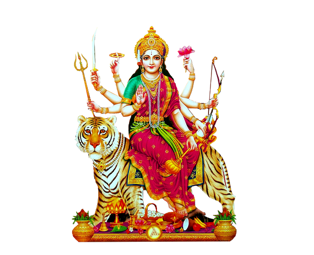 Indian goddess Durga Matha Png Image for Banner Desing-Vector Durga matha  png images for Free - Goddess Durga Maa PNG