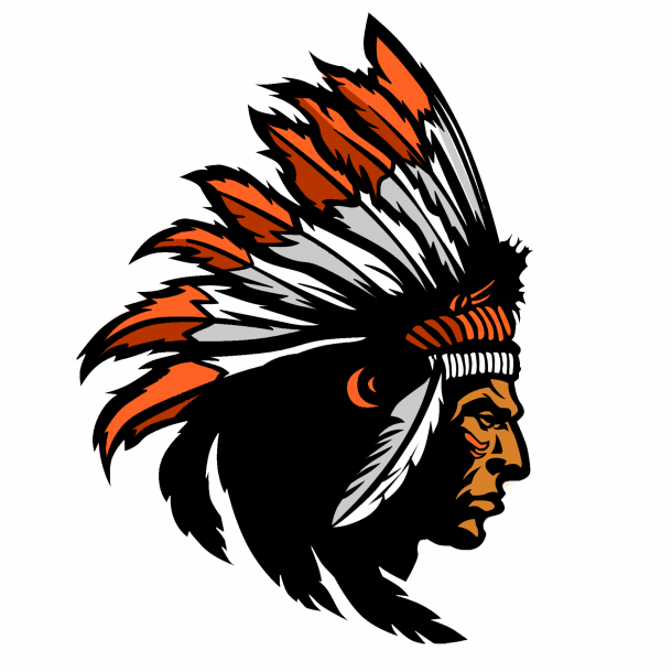 Miami Gardens Chiefs - Indian Warrior PNG HD
