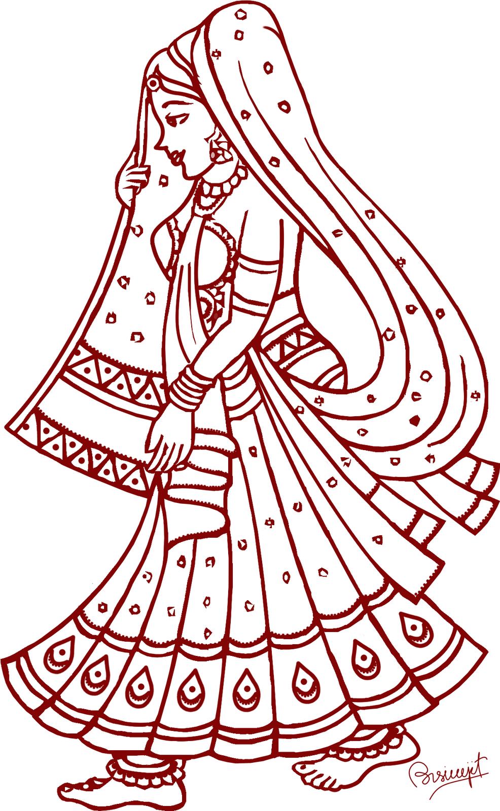 Hindu Wedding Clipart - Indian Wedding PNG Fonts
